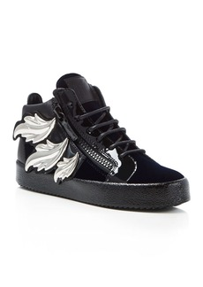 Giuseppe Zanotti May London Wing-Embellished Sneakers