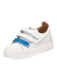 Giuseppe Zanotti May Two-Tone Grip-Strap Sneaker