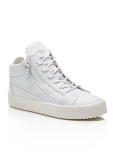 Giuseppe Zanotti Maylondon Lace Up High Top Sneakers
