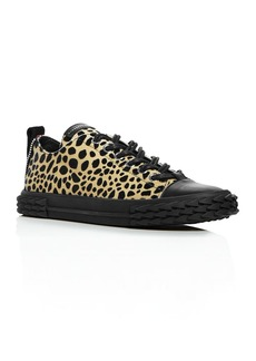 Giuseppe Zanotti Men's Animal Print Blabber Sneakers