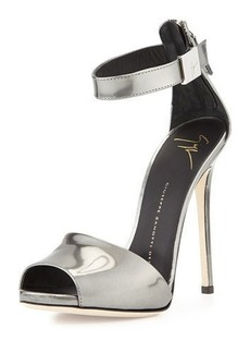 Giuseppe Zanotti Metallic Ankle-Strap Sandal
