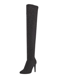 Giuseppe Zanotti Natalie Stretch Sparkle Tall Boot