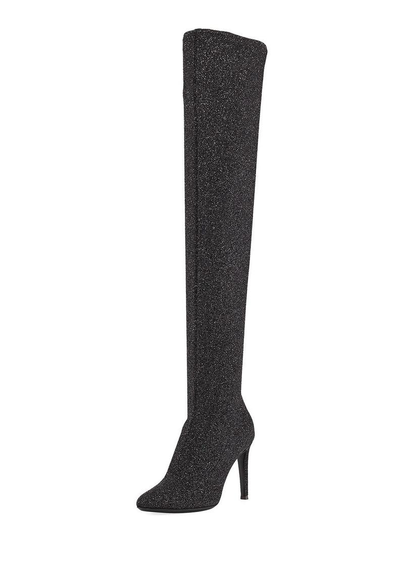 Giuseppe Zanotti Natalie Stretch Sparkle Tall Boot