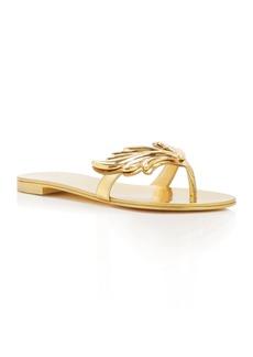 Giuseppe Zanotti Nuvorock Wing Thong Sandals