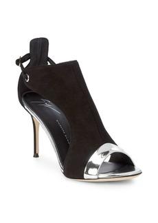 Giuseppe Zanotti Open Sides Leather Sandals