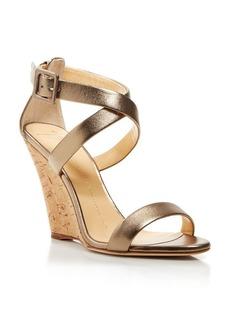 Giuseppe Zanotti Open Toe Platform Wedge Sandals - Coline Cork Bloomingdale's Exclusive