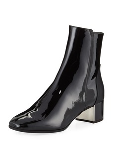 Giuseppe Zanotti Patent Leather Ankle Booties