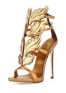 Giuseppe Zanotti Shooting Flame Leather Sandal