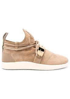 Giuseppe Zanotti Singles Sneaker in Tan. - size 36 (also in 37,38)