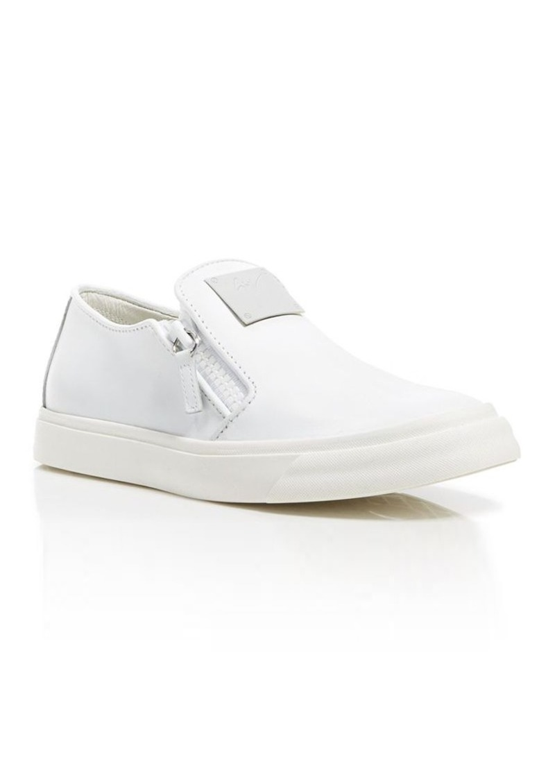 Giuseppe Zanotti Slip On Sneakers - London Double Zip