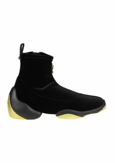 Giuseppe Zanotti Sneakers In Velvet Color Black