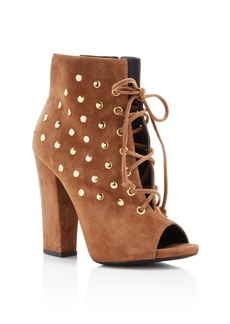 Giuseppe Zanotti Studded Alien Lace Up Booties