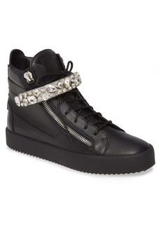 Giuseppe Zanotti Studded High Top Sneaker (Men)