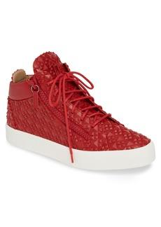 Giuseppe Zanotti Textured Sneaker (Men)
