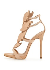 Giuseppe Zanotti Wings Suede High-Heel Sandals