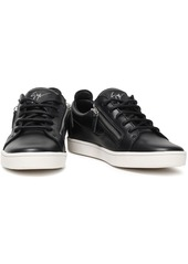 Giuseppe Zanotti Woman Brek Leather Sneakers Black