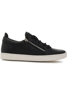 Giuseppe Zanotti Woman Brek Leather Sneakers Black