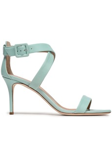 Giuseppe Zanotti Woman Coline 80 Leather Sandals Turquoise