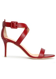 Giuseppe Zanotti Woman Coline Leather Sandals Crimson