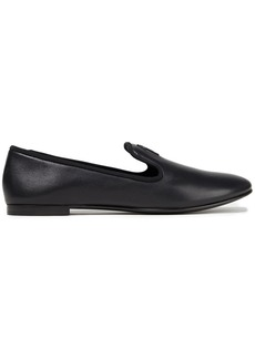 Giuseppe Zanotti Woman Dalila Logo-appliquéd Leather Loafers Black