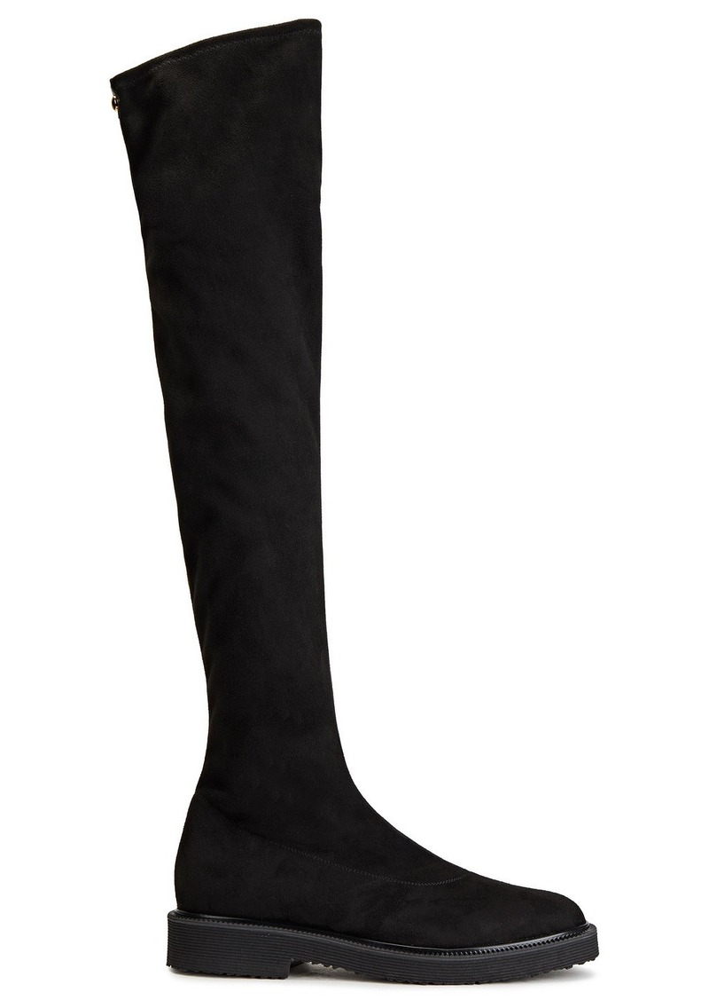 Giuseppe Zanotti Woman Hilary Stretch-suede Over-the-knee Boots Black