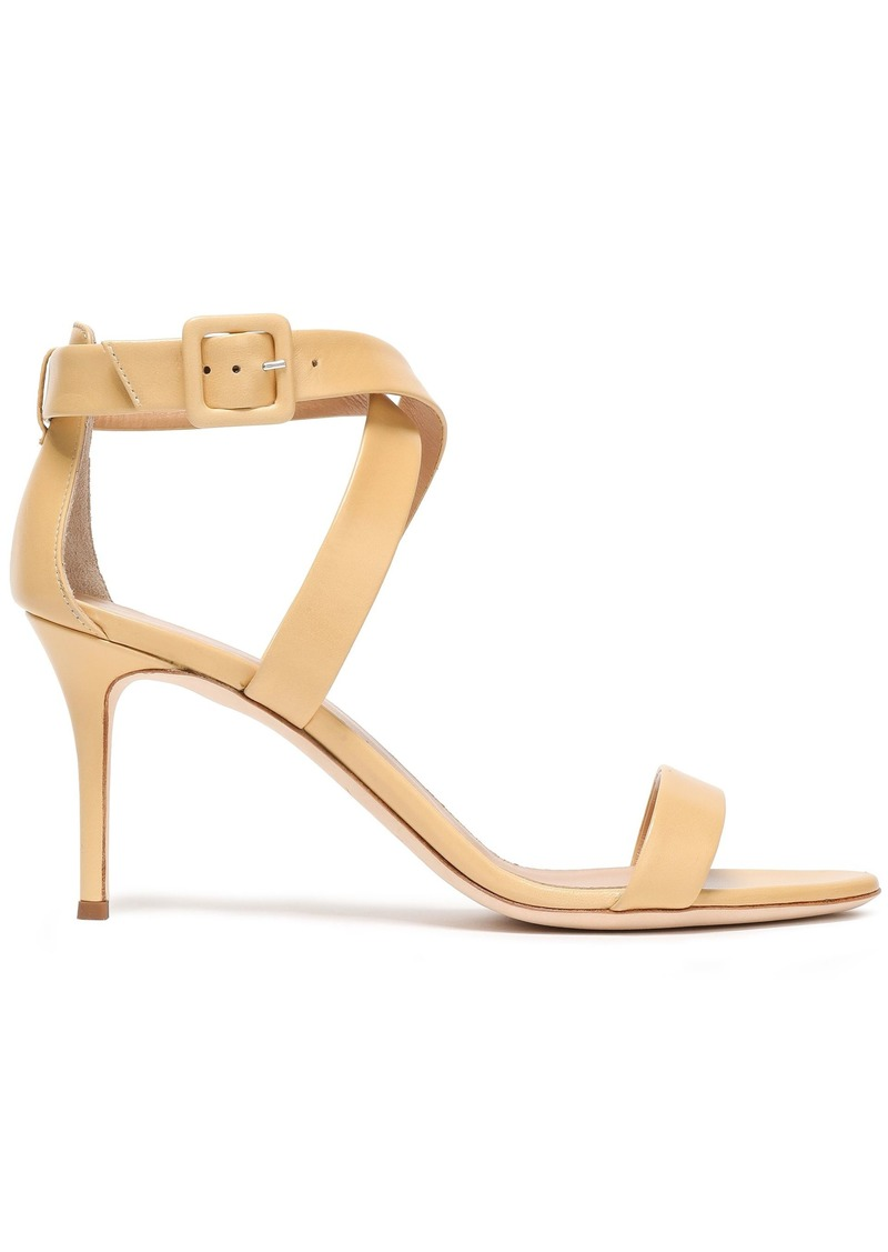Giuseppe Zanotti Woman Leather Sandals Beige