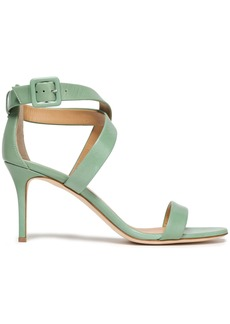 Giuseppe Zanotti Woman Leather Sandals Light Green