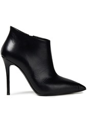 Giuseppe Zanotti Woman Lucrezia 105 Leather Ankle Boots Black