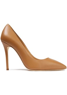 Giuseppe Zanotti Woman Lucrezia 105 Leather Pumps Camel