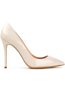 Giuseppe Zanotti Woman Lucrezia 105 Patent-leather Pumps Ecru