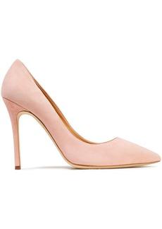 Giuseppe Zanotti Woman Lucrezia 105 Suede Pumps Baby Pink