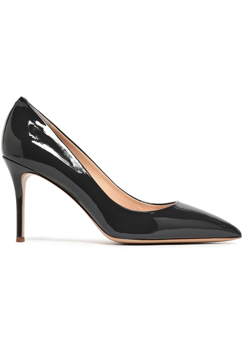 Giuseppe Zanotti Woman Lucrezia 90 Patent-leather Pumps Dark Gray