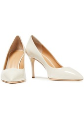 Giuseppe Zanotti Woman Lucrezia 90 Patent-leather Pumps Ivory