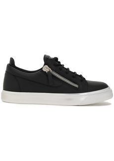 Giuseppe Zanotti Woman Nicki Leather Sneakers Black