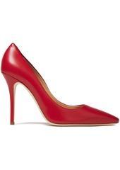 Giuseppe Zanotti Woman Notte 105 Leather Pumps Red