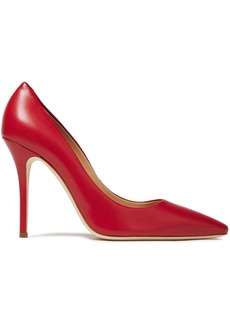Giuseppe Zanotti Woman Notte 105 Leather Pumps Red