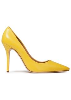 Giuseppe Zanotti Woman Notte 105 Leather Pumps Yellow