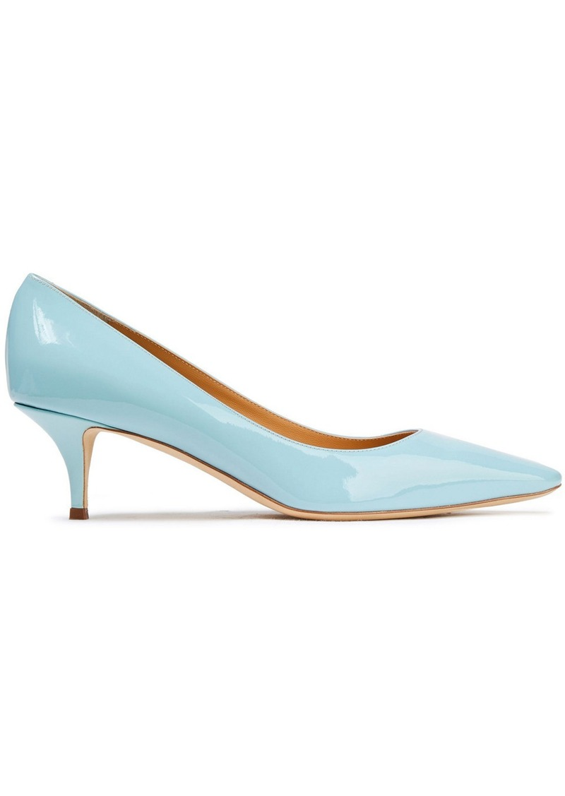 Giuseppe Zanotti Woman Notte 50 Patent-leather Pumps Sky Blue
