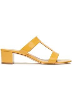 Giuseppe Zanotti Woman Patent-leather Mules Marigold