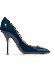 Giuseppe Zanotti Woman Patent-leather Pumps Navy