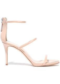 Giuseppe Zanotti Woman Patent-leather Sandals Blush