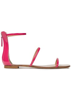 Giuseppe Zanotti Woman Roll 10 Patent-leather Sandals Fuchsia