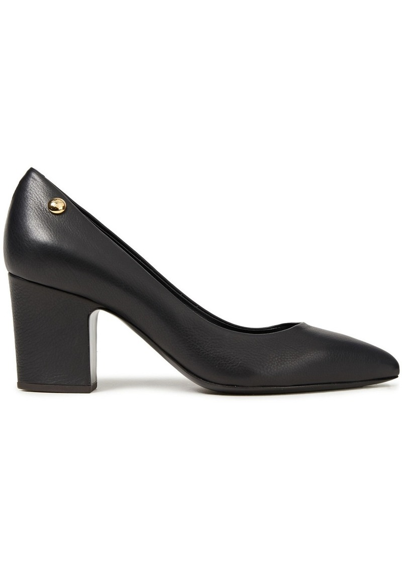 Giuseppe Zanotti Woman Zaira Embellished Textured-leather Pumps Black