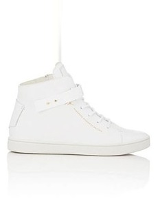 Giuseppe Zanotti Women's Ankle-Strap High-Top Sneakers-WHITE Size 6.5