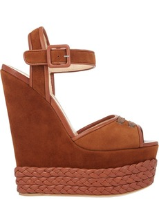Giuseppe Zanotti Women's Braided Platform-Wedge Sandals Size 10