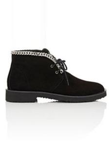 Giuseppe Zanotti Women's Chain-Embellished Chukka Boots