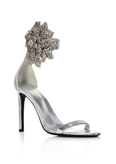 Giuseppe Zanotti Women's Crystal-Embellished High-Heel Sandals