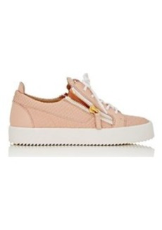 Giuseppe Zanotti Women's Double-Zip Low-Top Sneakers
