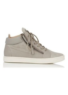 Giuseppe Zanotti Women's Double-Zip Mid-Top Sneakers