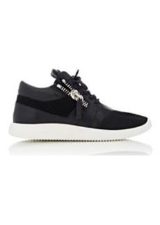 Giuseppe Zanotti Women's Double-Zip Running Sneakers-BLACK Size 10.5
